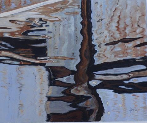 102-Mouillage miroir - 15F (54x65cm) - Öl