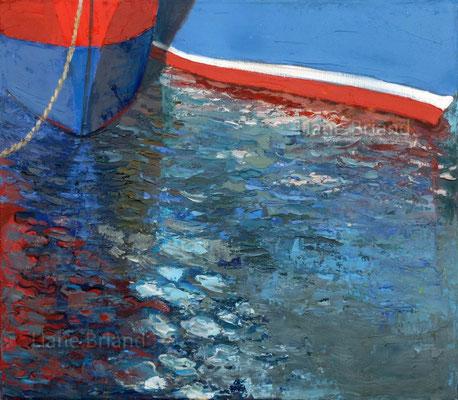 Séries reflets N°5 - taille du tableau: 27x34cm