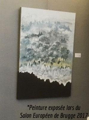 tableau « Survole » exposé à Brugge