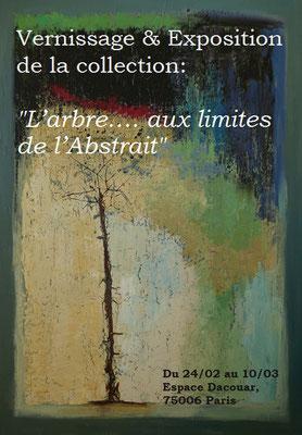 """Vernissage et Exposition nvlle collection """"L'arbre... aux limites de l'Abstrait"""""""