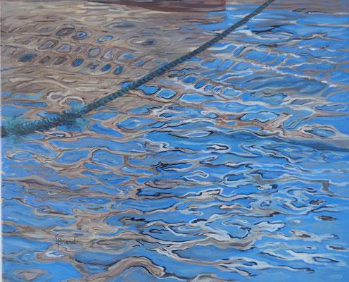 100- Les mailles - 20F (73x60cm) - Öl
