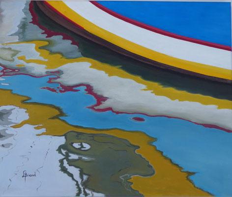 126-Sensations de couleurs - 15F (54x65cm) - Öl
