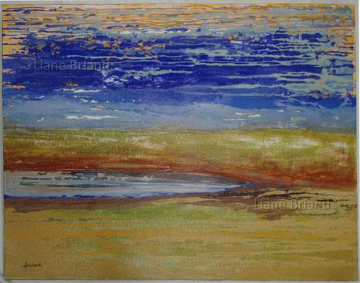 Inspirations maison au bord de mer - taille du tableau: 81x100cm