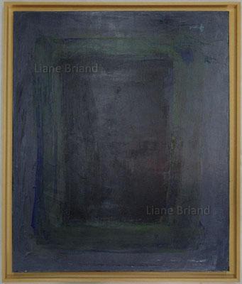Présence de l'absence - taille du tableau: 65x92cm