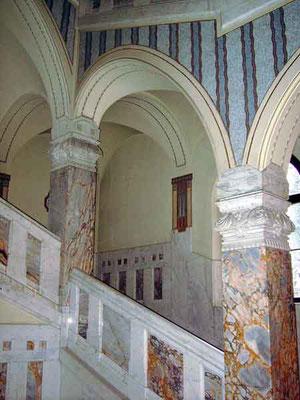 Faber Castellsches Schloss, Vorzustand Treppenhaus/ 1.OG