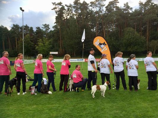 Checkpoint Jumpers vom HSV Plänterwald und unsere Mannschaft Indy und die 6 zwerge
