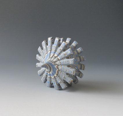 Neriage(marbleized) vese  14.7㎝*10.0(㎝/H) ¥80000