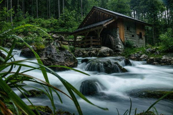zum Gollinger Wasserfall