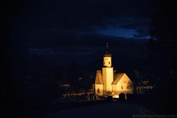 Kirche in Wallgau