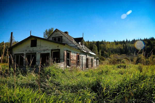verlassene Ranch im Wells Gray PP