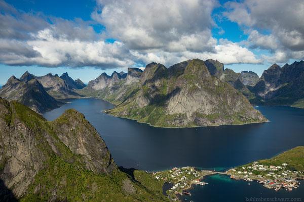 zerklüftete Fjorde