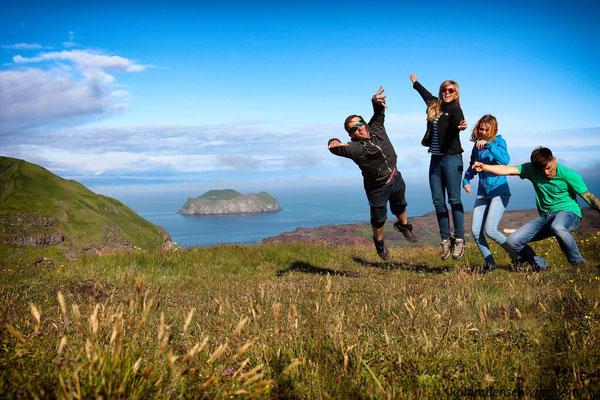 auf Heimaey - Besuch der Vestmannaeyjar