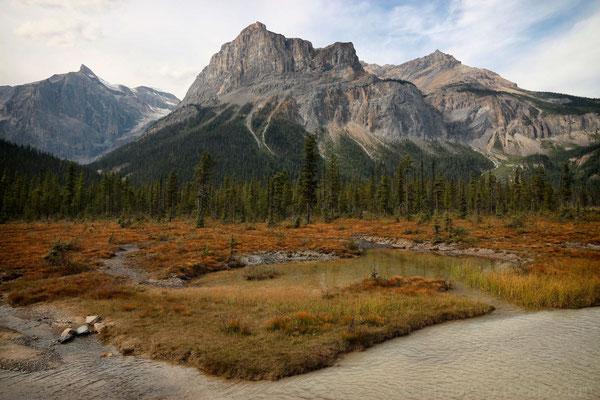 Bergmassiv beim Emerald Lake