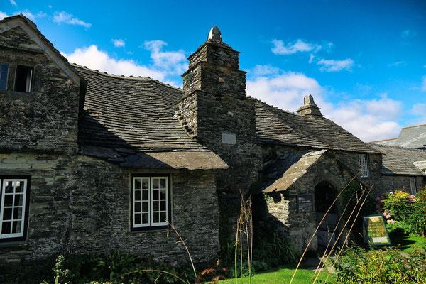 das alte Postamt von Tintagel - Nordküste