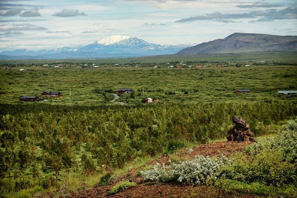 Südisland - Blick zum Vulkan Hekla