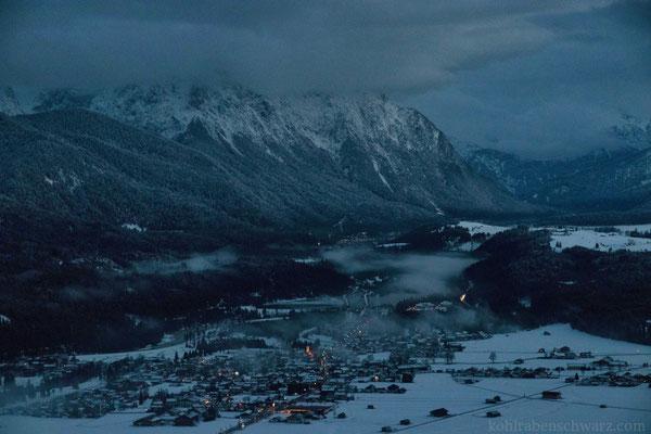 Blick über die Alpenwelt Karwendel