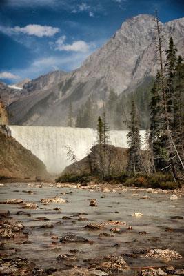 Wapta Falls im Yoho NP