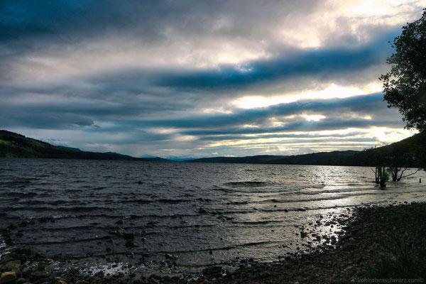Zelten am Loch Rannoch