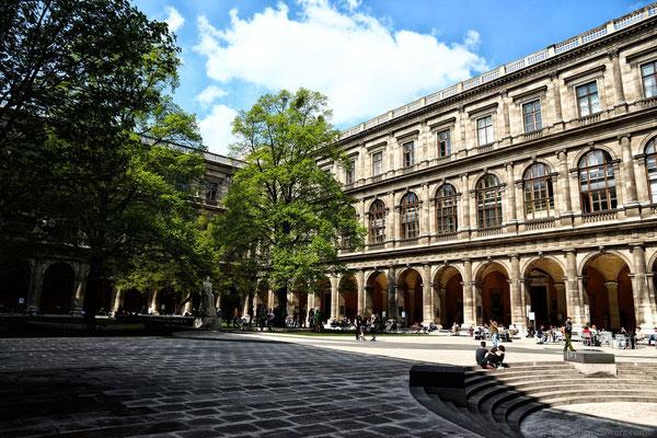 Campus der Uni Wien