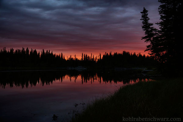 Sonnenaufgang am Bow River