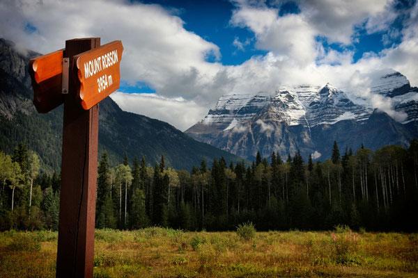 Der Mount Robson
