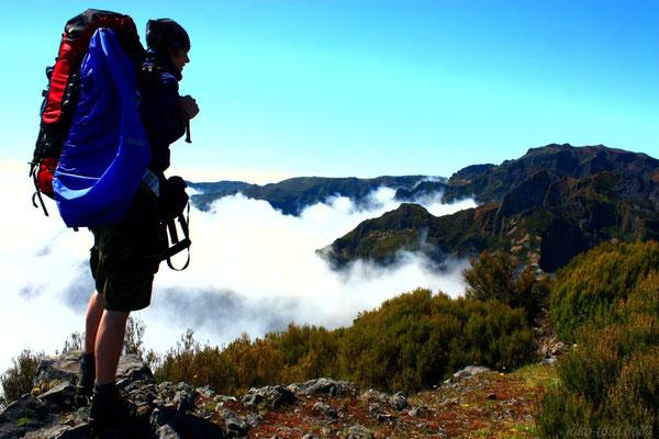 Auf dem Weg zum Pico Ruivo