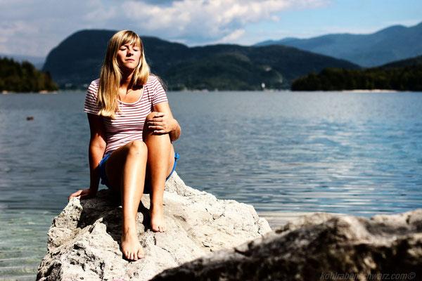 am Bohinjski Jezero