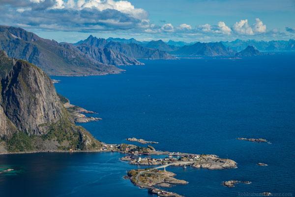 die Küste der Lofoten