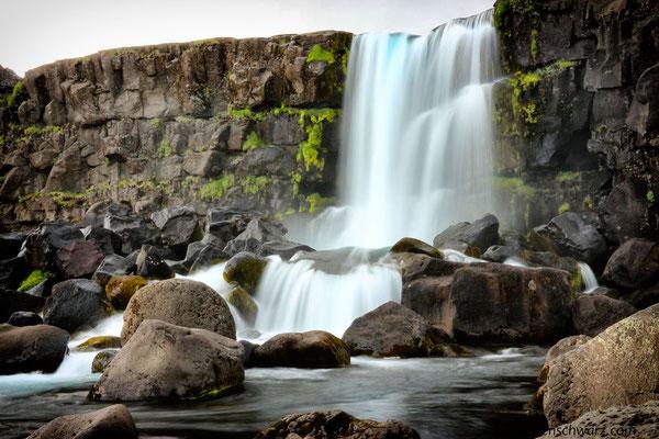 Öxararfoss beim Þingvellir