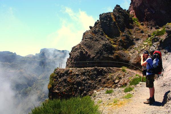 Zum Pico Arieiro wandern