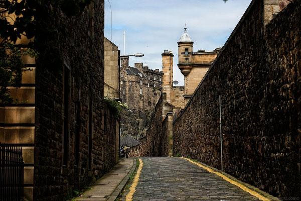 Ankunft in Edinburgh