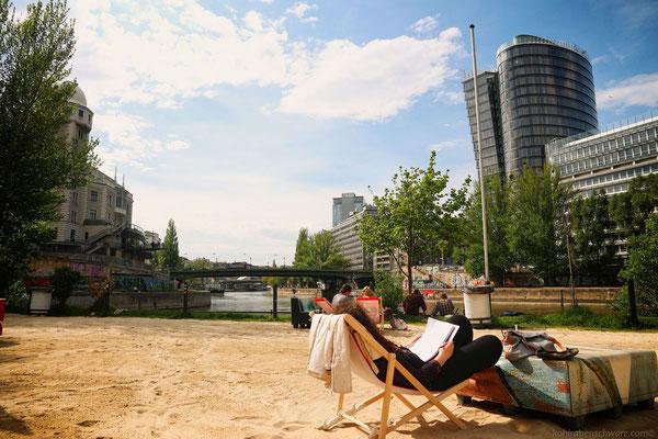 Entspannen am Donaukanal