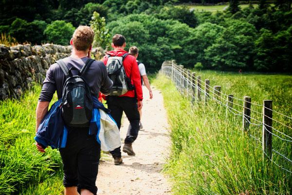 Abstieg vom Ben Nevis