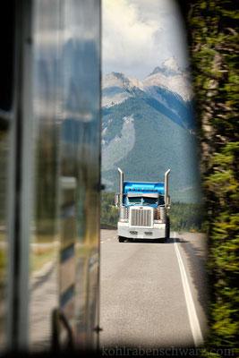 Unterwegs auf dem TransCanada Highway