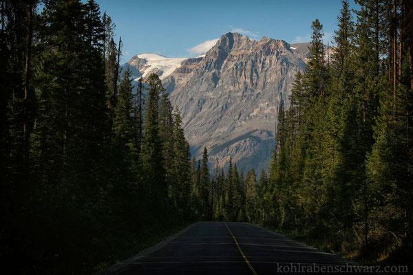 Zufahrtsstraße zum Emerald Lake