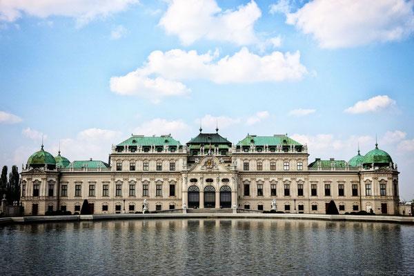 das obere Schloss Belvedere