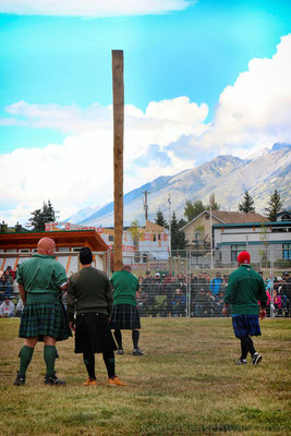 Highlandgames in Canmore
