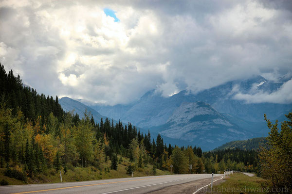 Unterwegs im Kananaskis Country