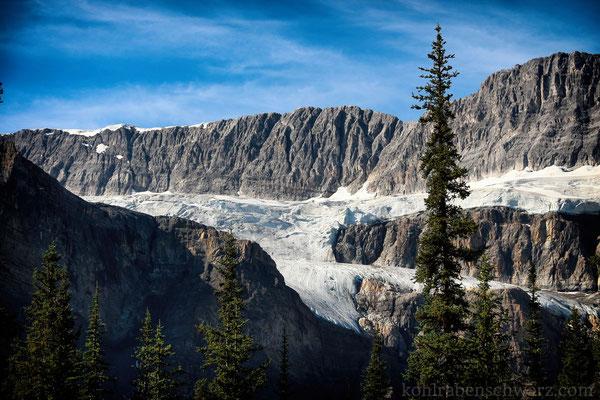 Gletscher und Berge