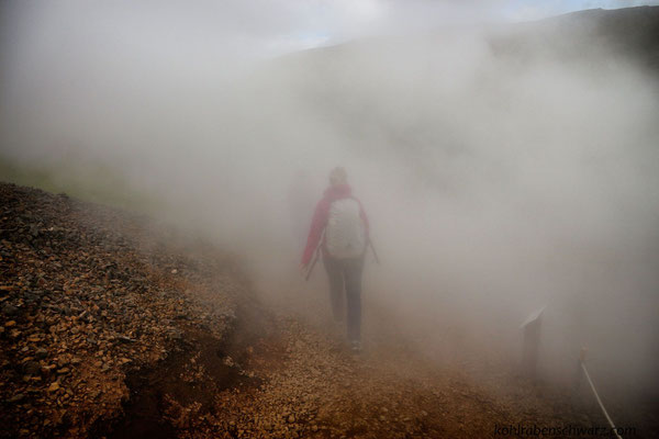im Hengill Geothermalgebiet
