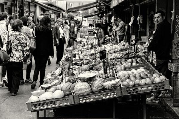 der Wiener Naschmarkt