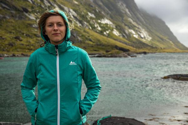 an der Küste der westlichen Lofoten