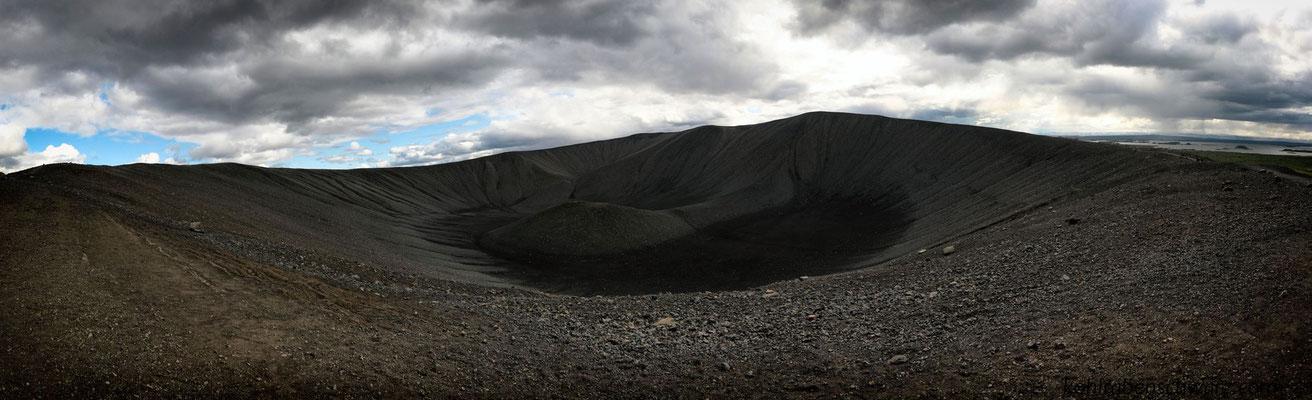 Hverfall Krater