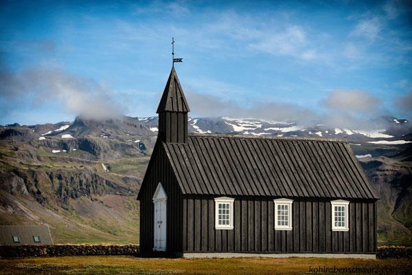 Kirche bei Budir, Budahraun - Snaefellsnes