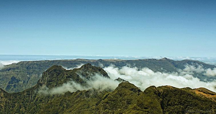Blick über das Gebirge