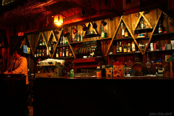 Die Bar der Rancho Santana, tolle Gastgeber