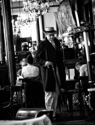 im Cafe Ritter