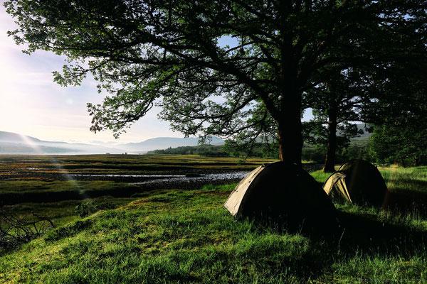 Sonnenaufgang am Loch Eil