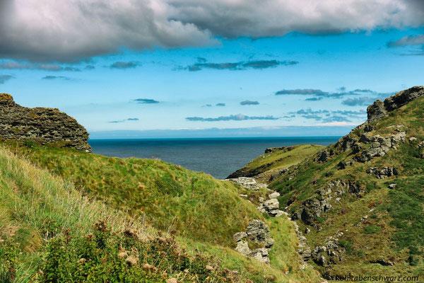 Tintagel - Nordküste - mystischer Geburtstort von König Artus