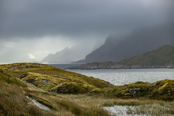 die raue Küste der Lofoten